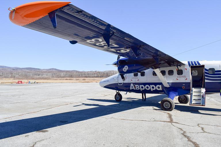 Самолет DHC-6 летает в Кавалерово из Владивостока и Хабаровска