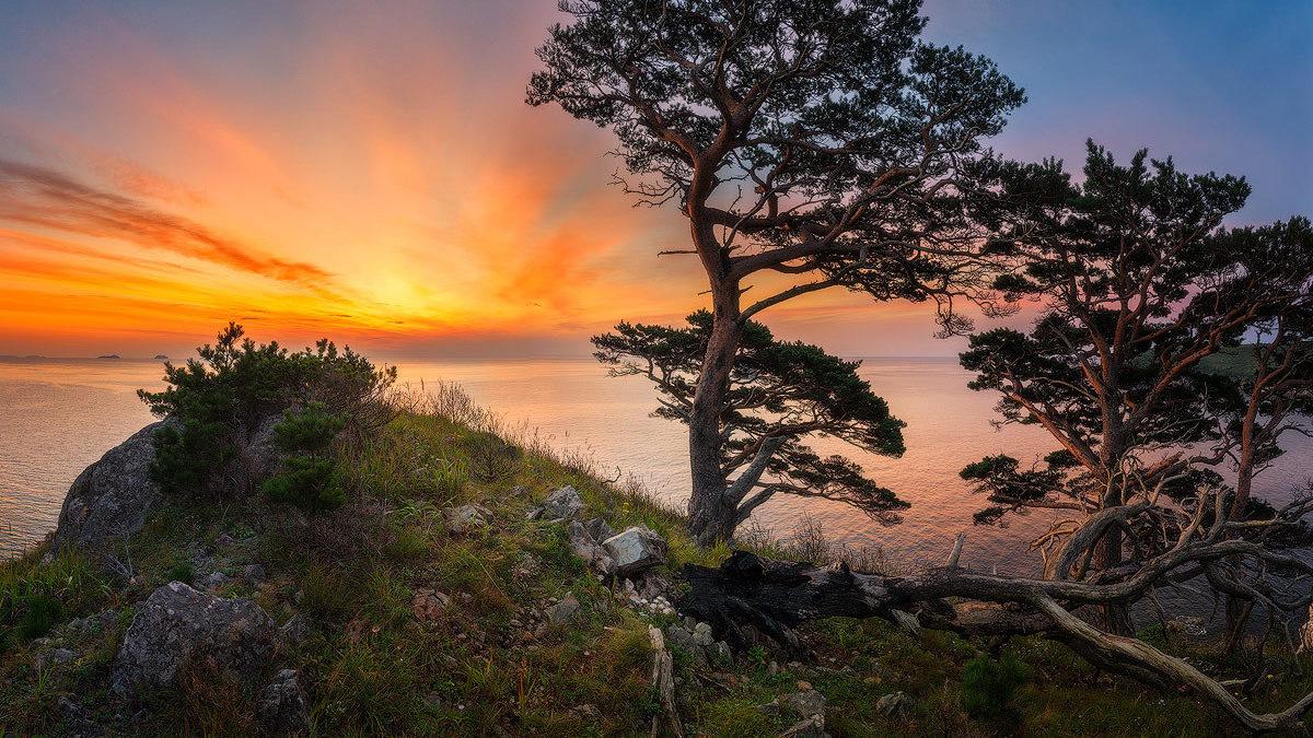фото большом красивые приморские пейзажи фото козырек над