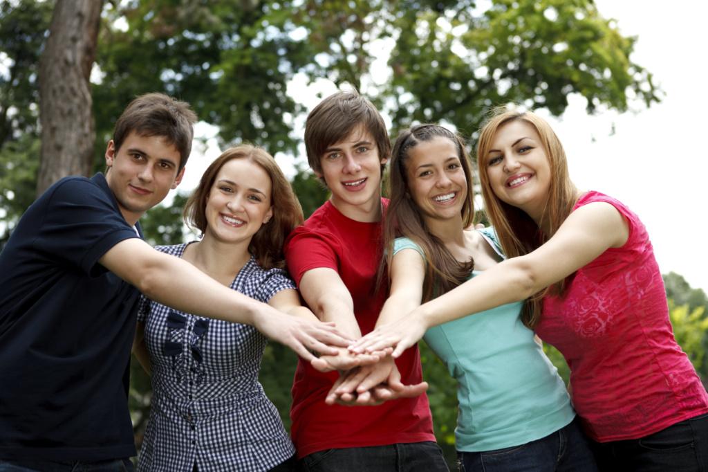 Кавалерово в День молодежи