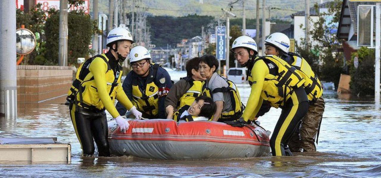 Тайфун Хагупит приближается к Приморью