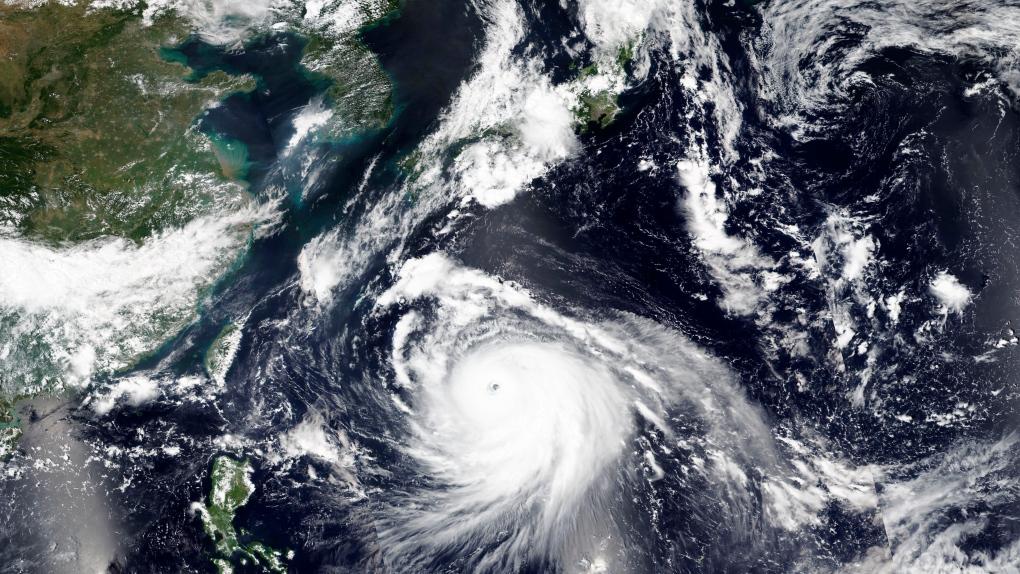 Тайфун Haishen движется к Приморью