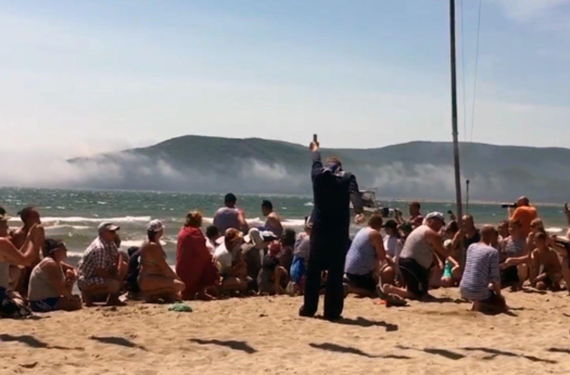 Девушка пострадала от выстрела на пляже Ольниского района Приморья в день МВФ России