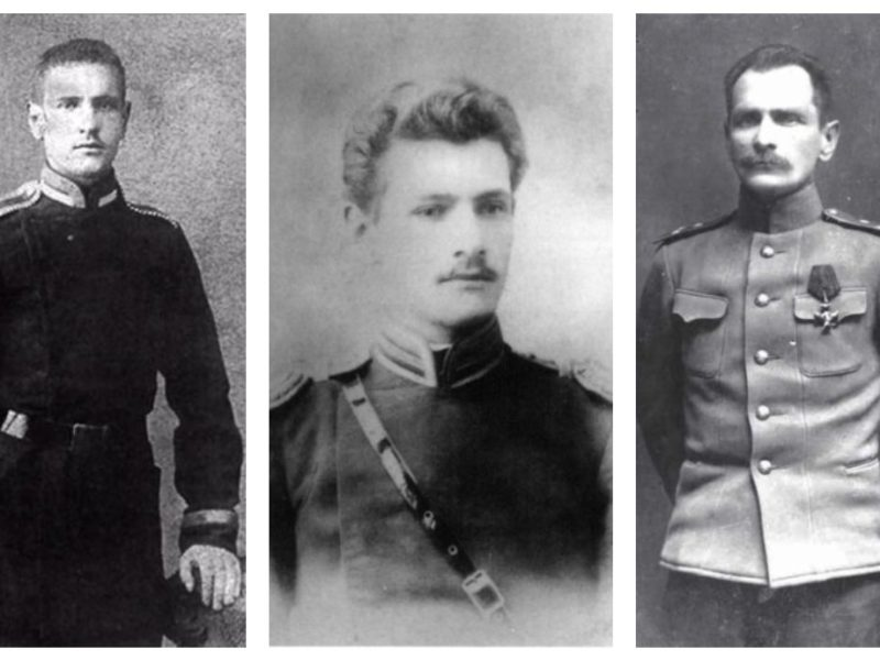 Владимир Клавдиевич Арсеньев в разные годы